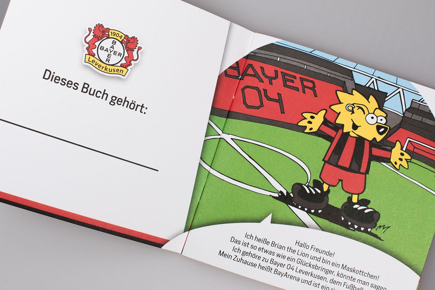 Bayer 04 Leverkusen Mini-Buch