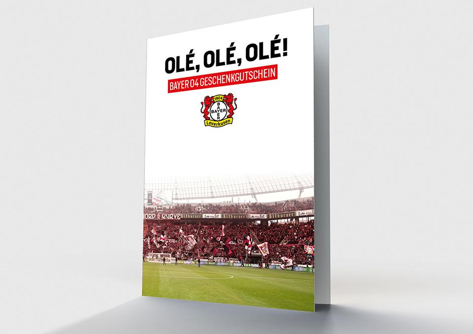 Bayer 04 Leverkusen Print-at-Home Gutschein