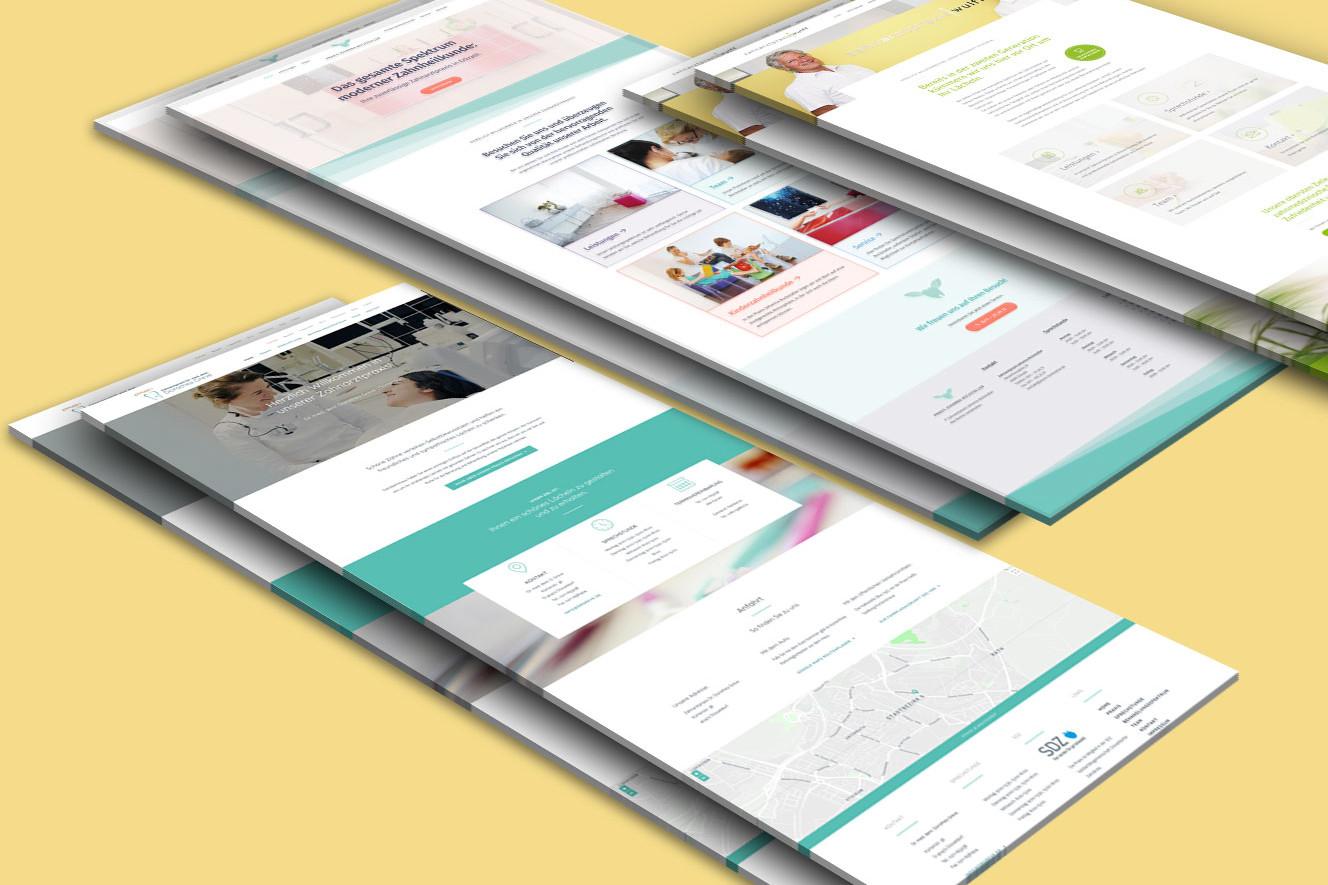 Projekt Webseiten für Arztpraxen